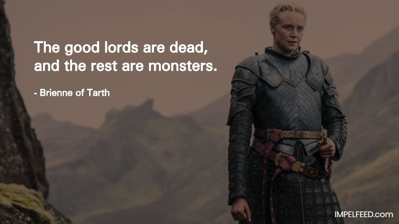Brienne of Tarth Quote