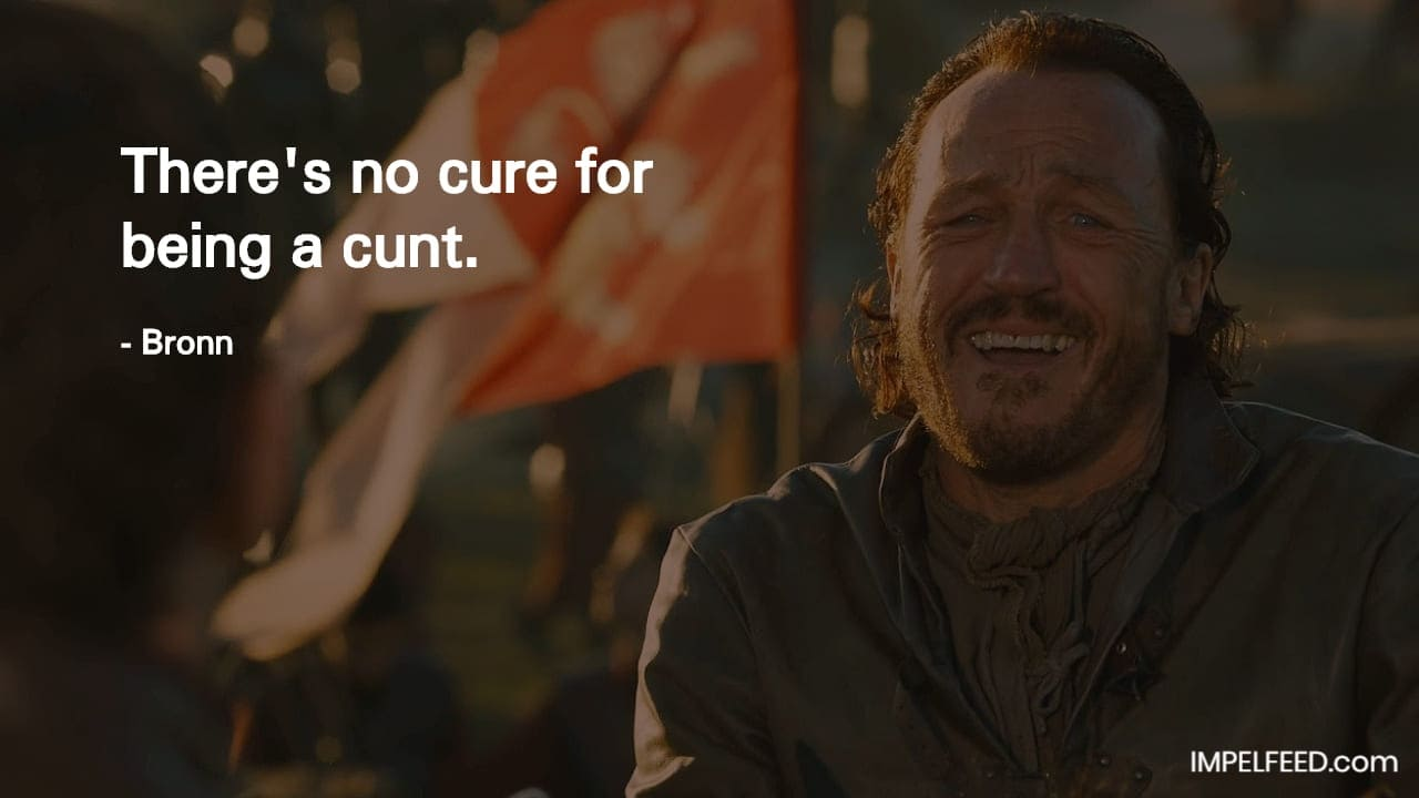 Bronn Quote