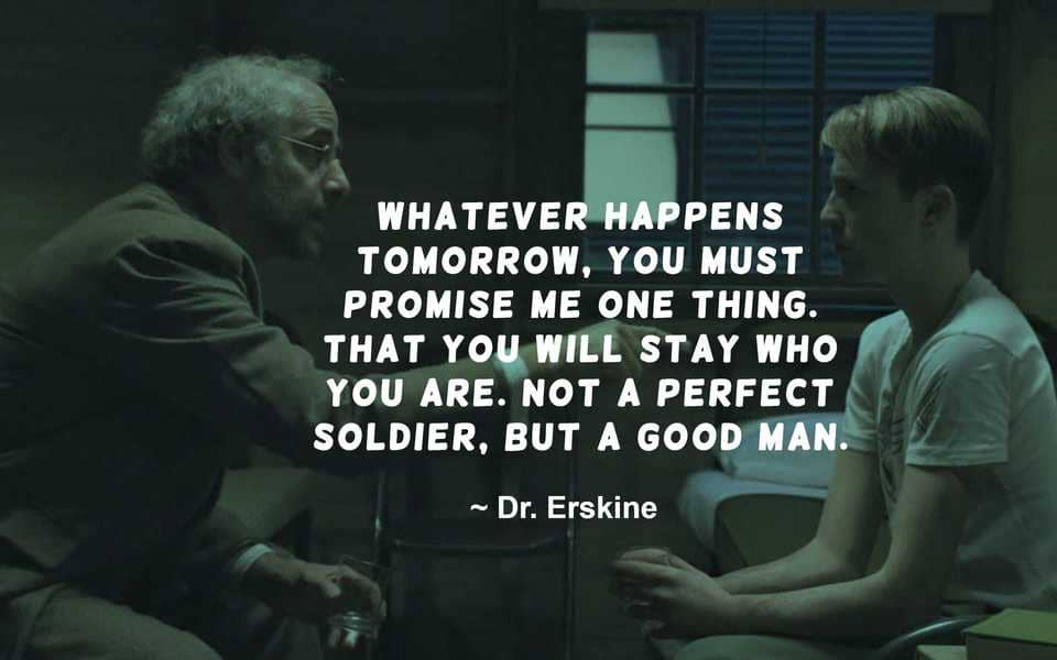 Dr Abraham Erskine Quote