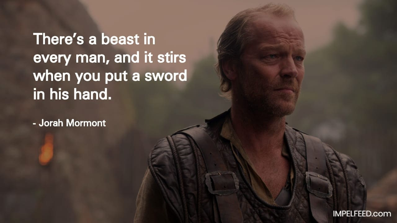 Jorah Mormont Quote