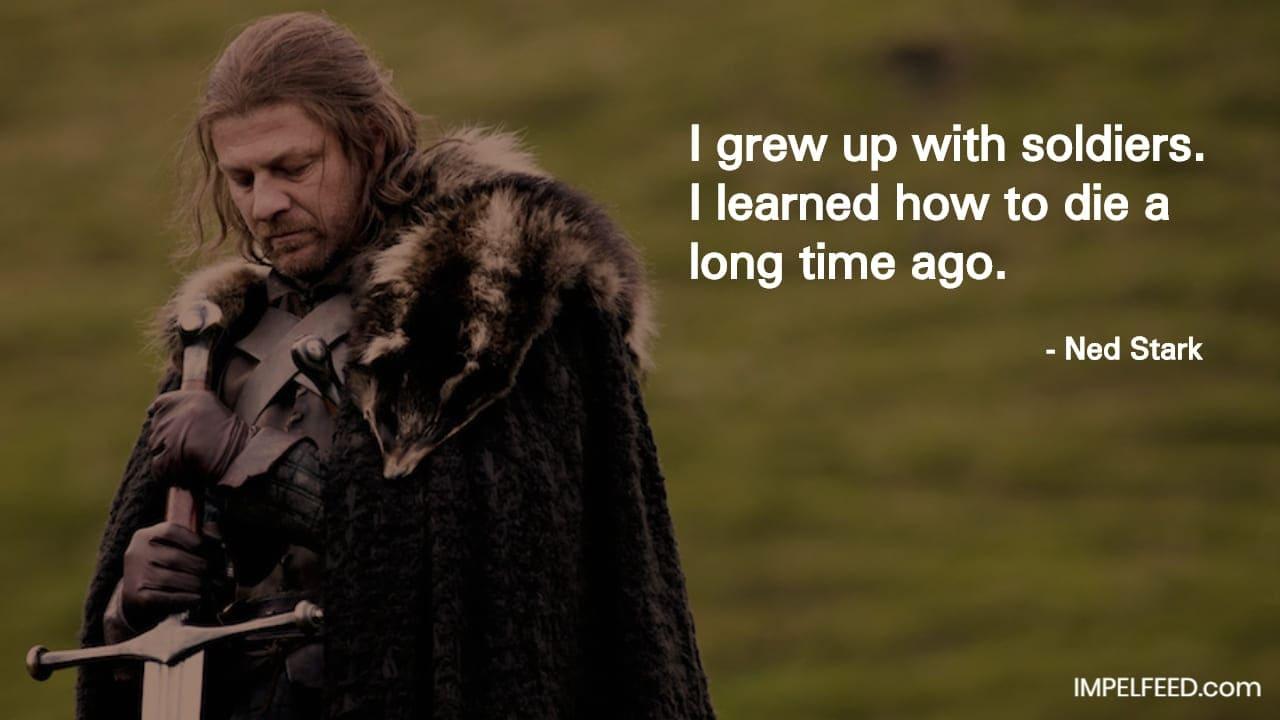 Ned Stark Quote