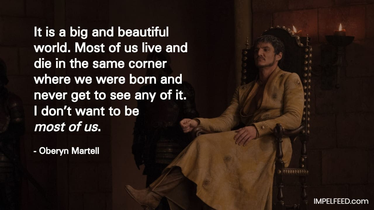 Oberyn Martell Quote