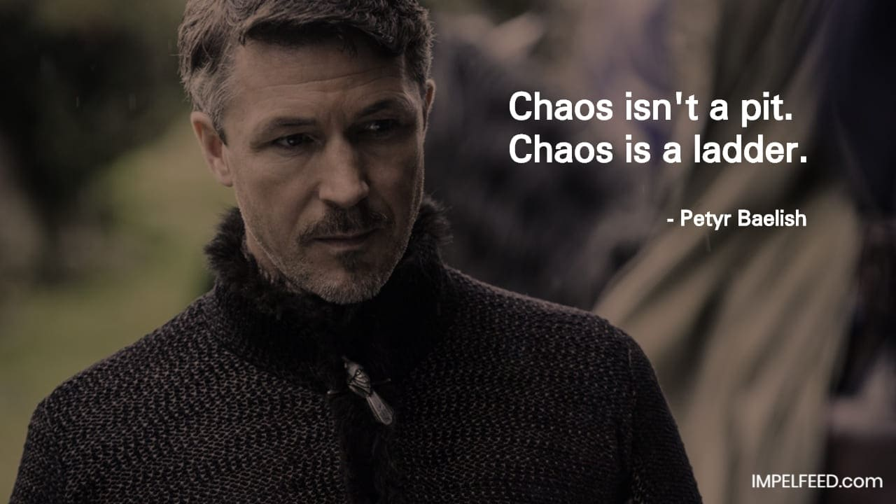 Petyr Baelish Quote